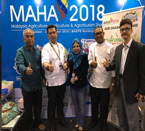 We are here at MAHA 2018